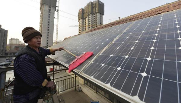 """山东邹平:清洁新能源打造""""绿色生活"""""""
