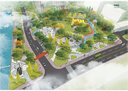 积极开展社区公园和街头绿地建设,利用创城整治违章建设腾空土地,建设