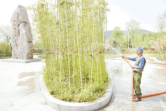 景观公园扮靓龙王河