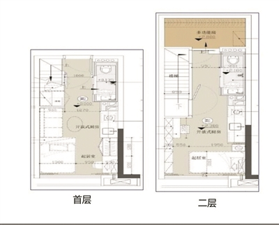 loft办公户型